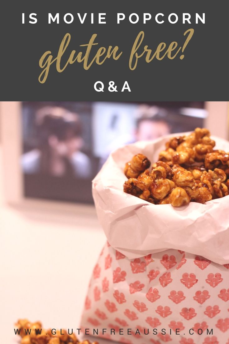 is movie popcorn gluten free