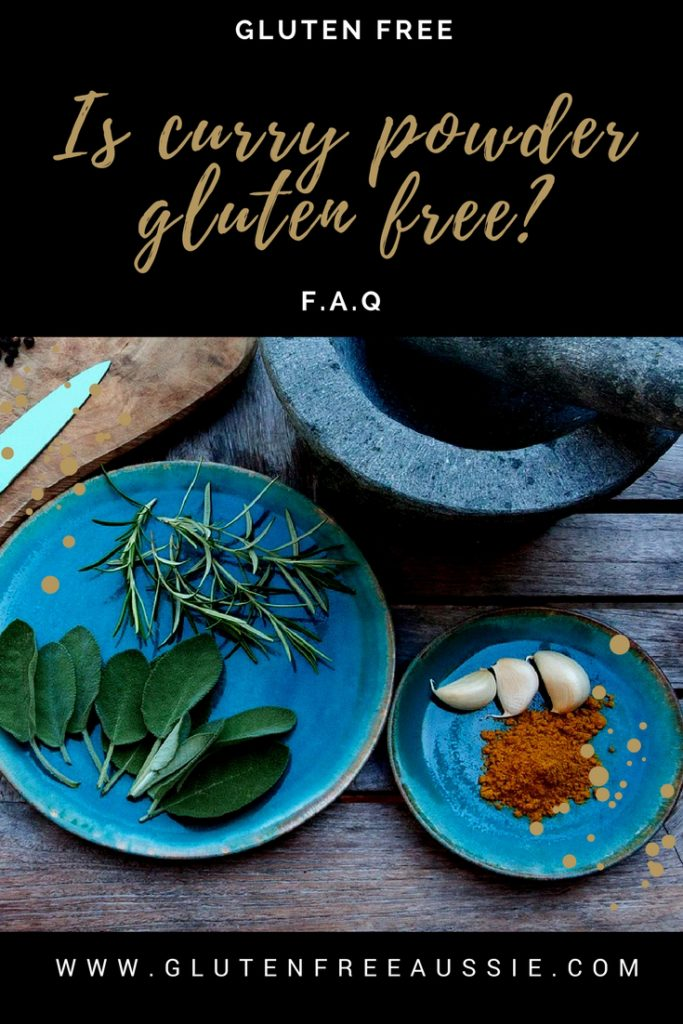 is curry gluten free
