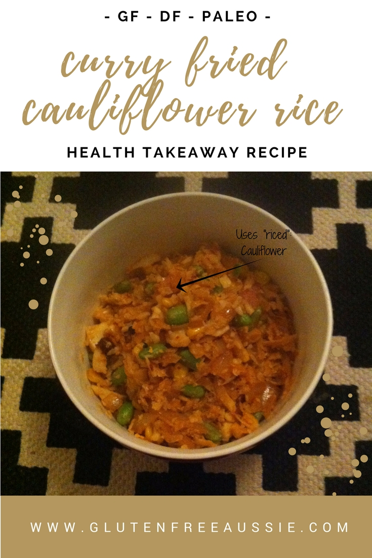 curried cauliflower fried rice