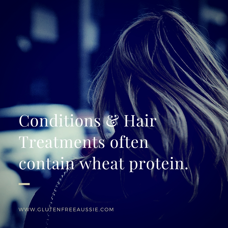 gluten in hair products